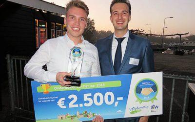 Mats Smit startende ondernemer van het jaar 2018